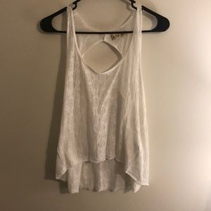 Hollister Sheer High-Low Top